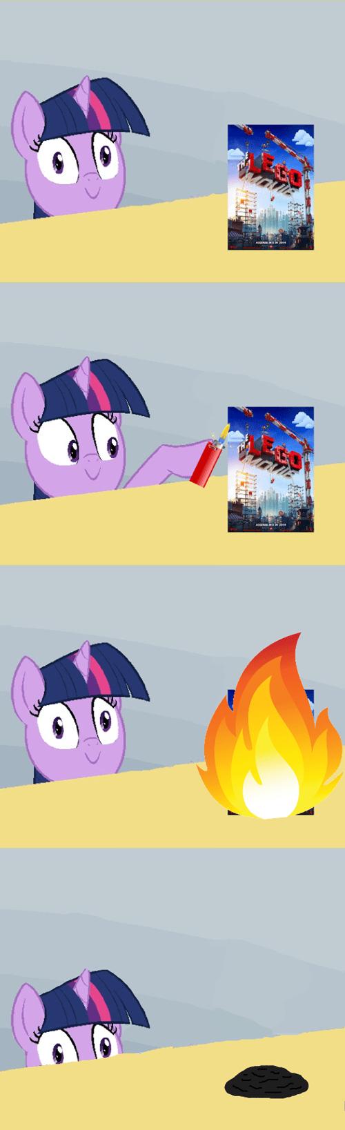 lego movie twilight sparkle arson - 8096186368