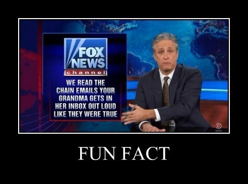 fox news funny Fun Fact the daily show - 8096260608