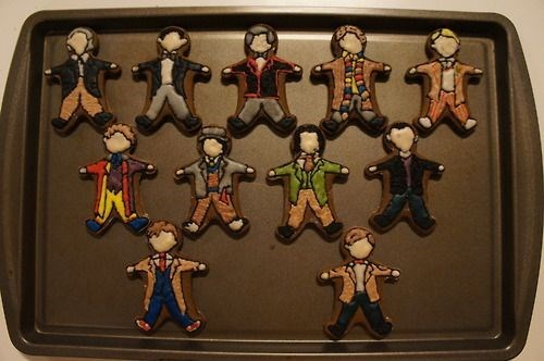 cookies,doctor who,gingerbread