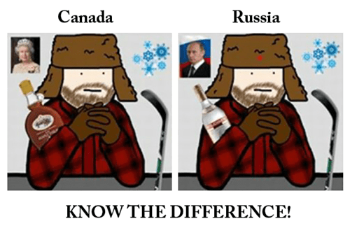 Canada countries geography russia - 8096322816