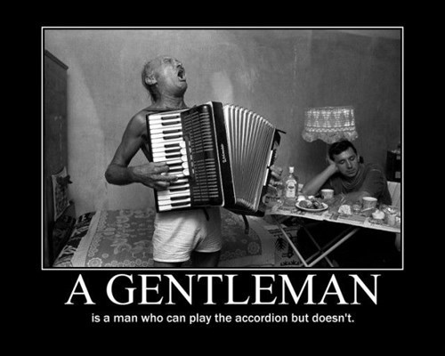 accordion,gentleman,funny