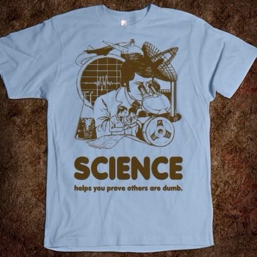 t shirts science idiots funny - 8096416768