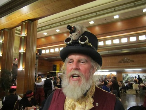 hat rat poorly dressed Steampunk g rated - 8096453376