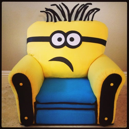 chair,etsy,despicable me,minions