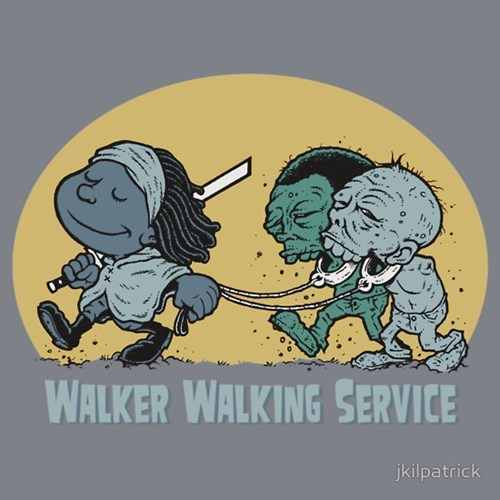 dogs michonne zombie tshirts - 8096655104