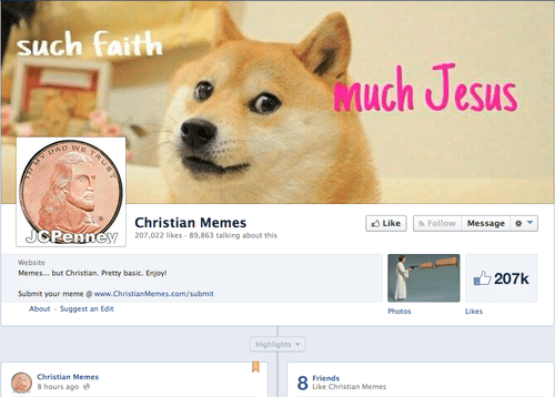 doge religion facebook failbook g rated - 8096775936