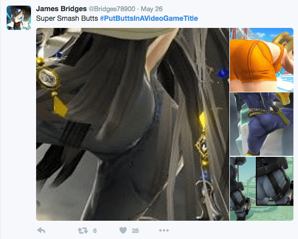 Twitter Outclasses Everything and Holds Nothing Back with #PutButtsInAVideoGameTitle Frenzy