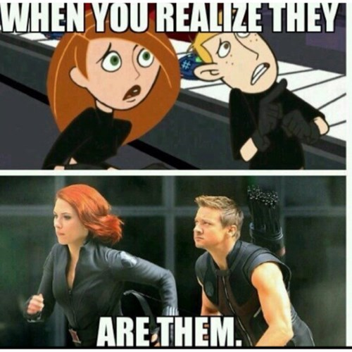 avengers,marvel,Kim Possible