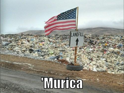 dump landfill old glory - 8097993216