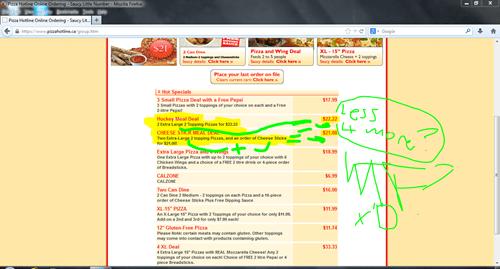 Pizza Hotline FTW
