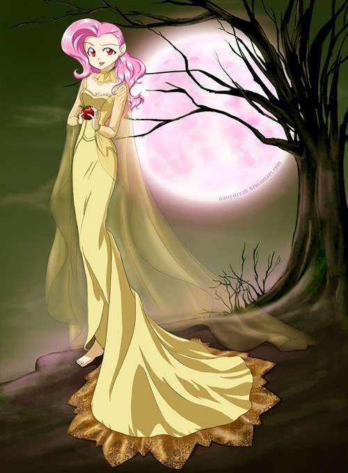 fluttershy Fan Art vampire - 8099585024