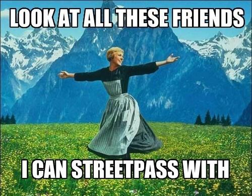 3DS Memes streetpass - 8099618816