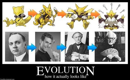 abra IRL evolution Pokémon - 8099654400