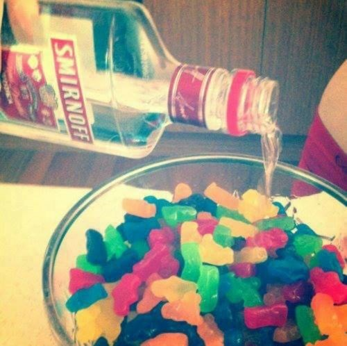 funny gummy bears vodka after 12 g rated