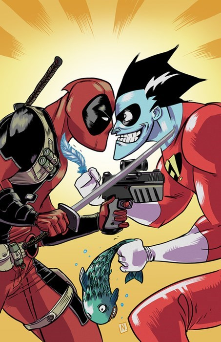 art,deadpool,freakazoid