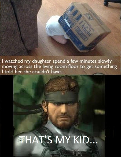 metal gear solid,toddlers