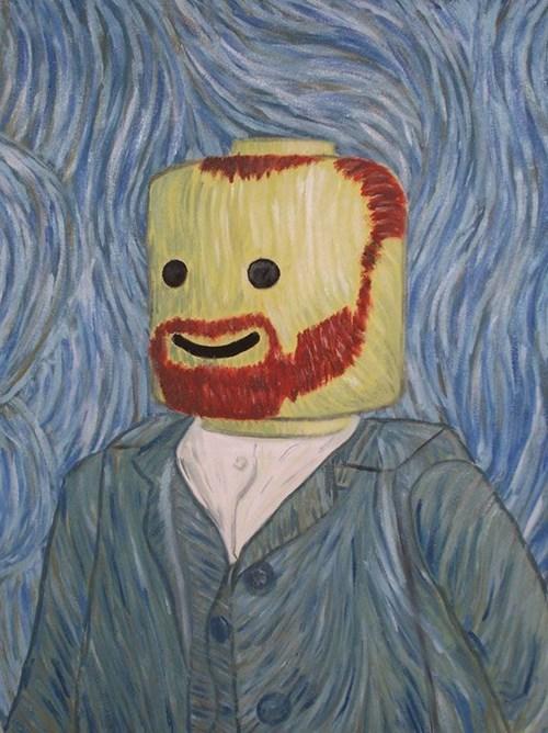 lego,Vincent van Gogh