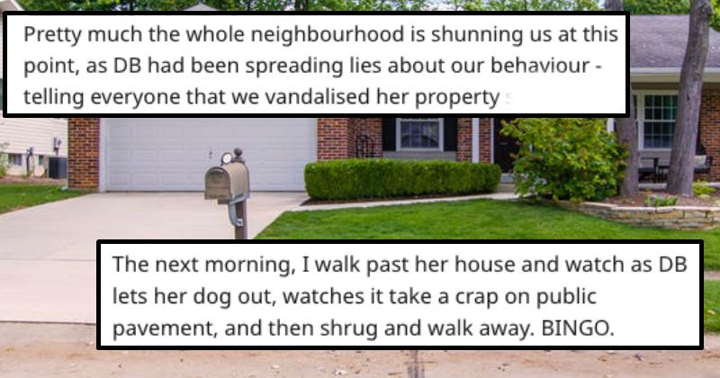 revenge on crazy neighbor