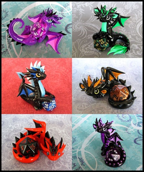 dragon art dice - 8100767488