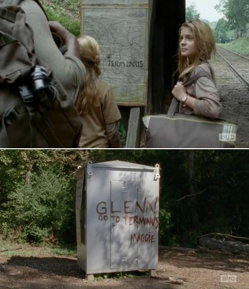 terminus Maggie Greene The Walking Dead - 8100832768