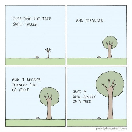 nature trees honest question web comics