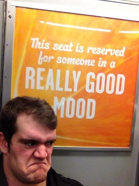 good mood,angry,Subway