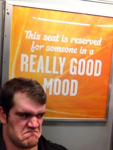 good mood angry Subway - 8101002240