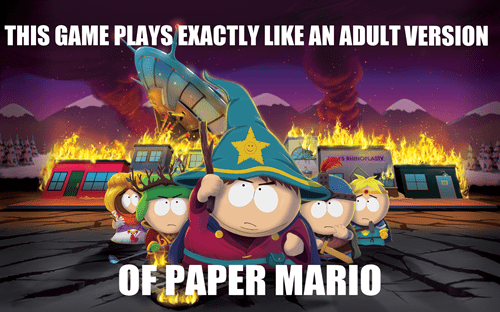 South Park video games stick of truth