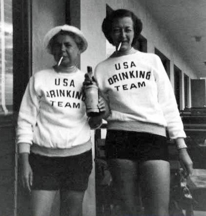 drinking,wtf,funny,vintage