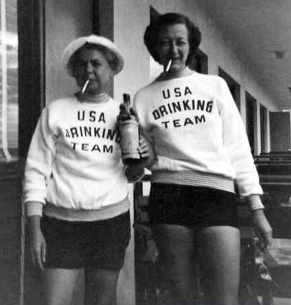 drinking wtf funny vintage - 8101040640