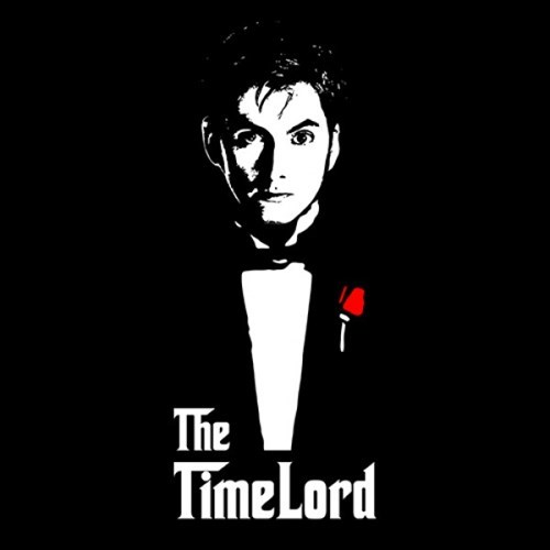 tshirts 10th doctor the godfather - 8101049088