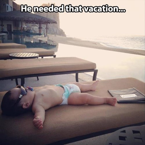 baby,cute,parenting,vacation,g rated