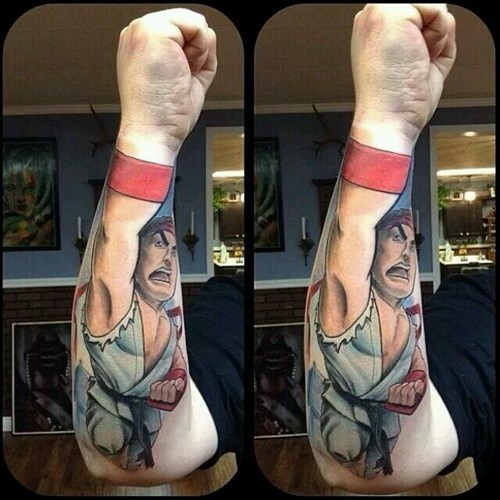 tattoos shoryuken ryu - 8101145600