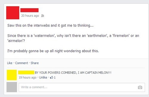 deep thoughts,captain planet,fruit,failbook,g rated