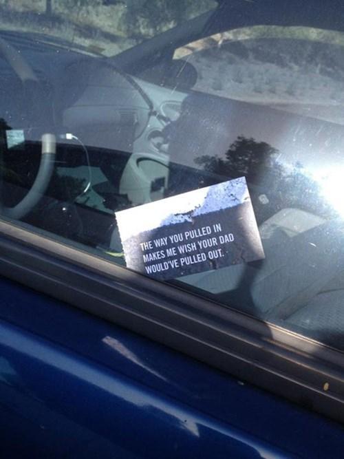 parking like a douche parking - 8101149440