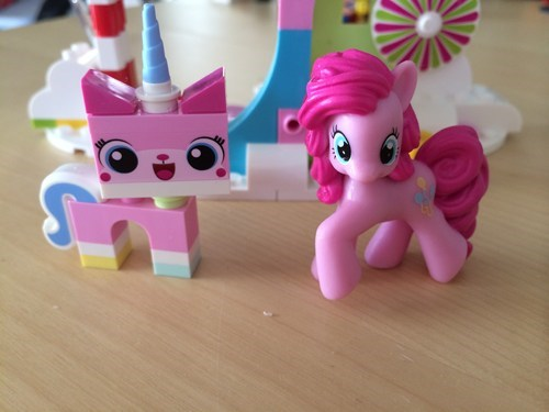 lego movie toys unikitty pinkie pie - 8101203968
