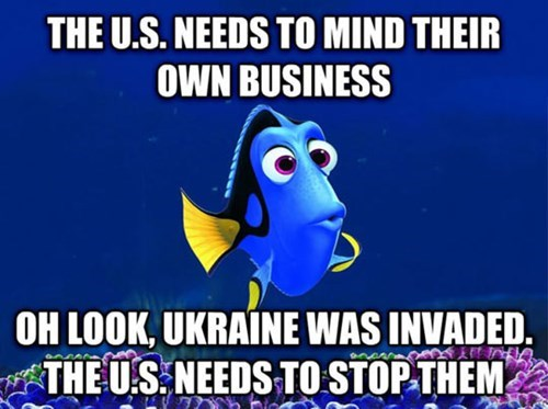 foreign policy,finding nemo,politics,ukraine,dory,russia