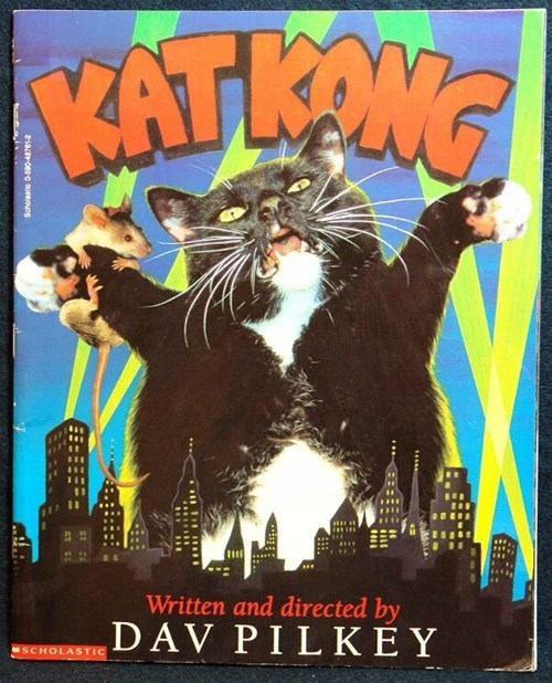 Cats books king kong satire - 8101229056