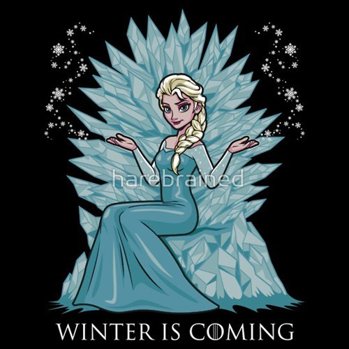 Winter Is Coming,tshirts,frozen