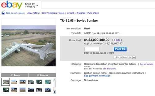 for sale airplane ebay g rated win - 8101370880