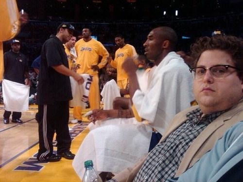 Lakers jonah hill kobe bryant basketball - 8101381888