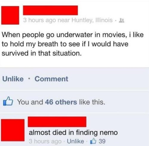 movies,facebook,finding nemo,failbook