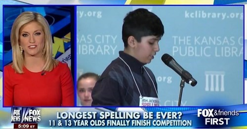 fox news,spelling bee,spelling