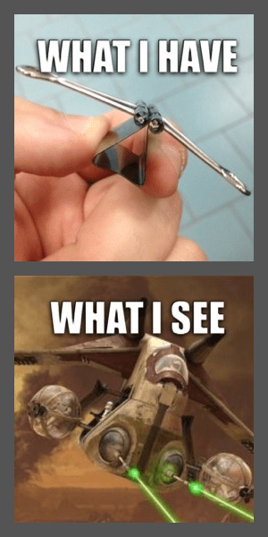 spaceships expectation vs. reality what i see - 8101654784