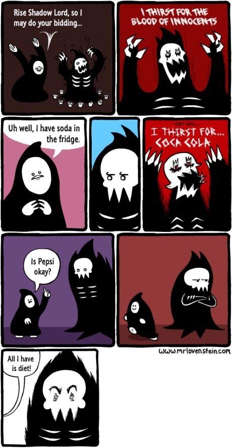 dark lord,soda,web comics