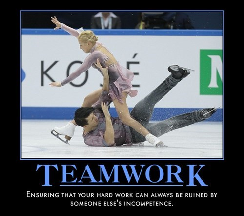 figure skating teamwork funny - 8102348032