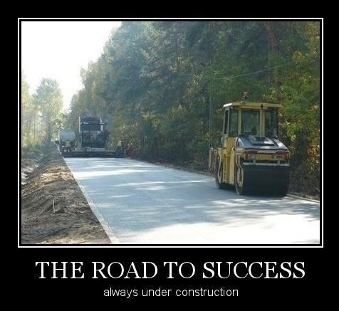 road construction success funny - 8102359808