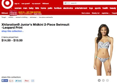 facepalm photoshop Target swimsuit - 8102364928