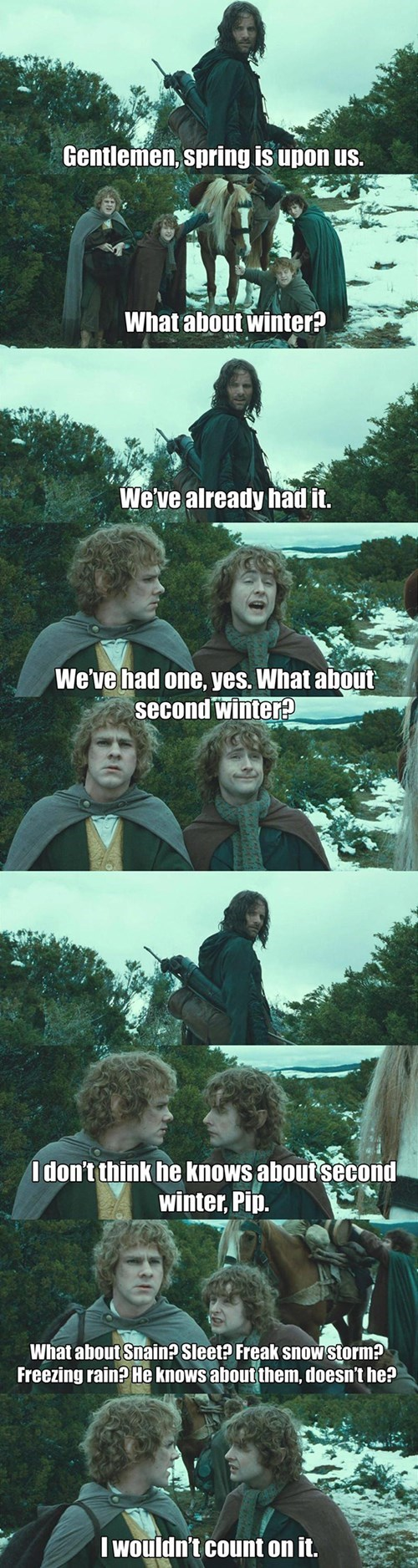 Lord of the Rings,weather,winter