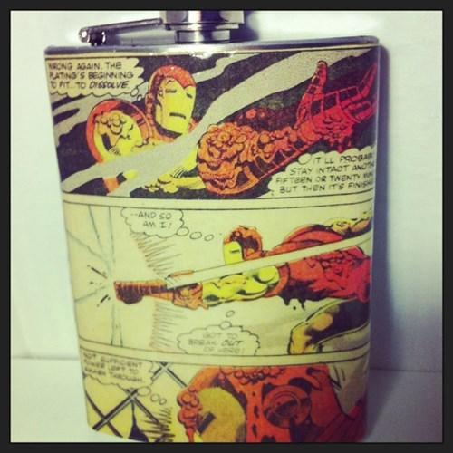 nerds ironman flask funny - 8102539776